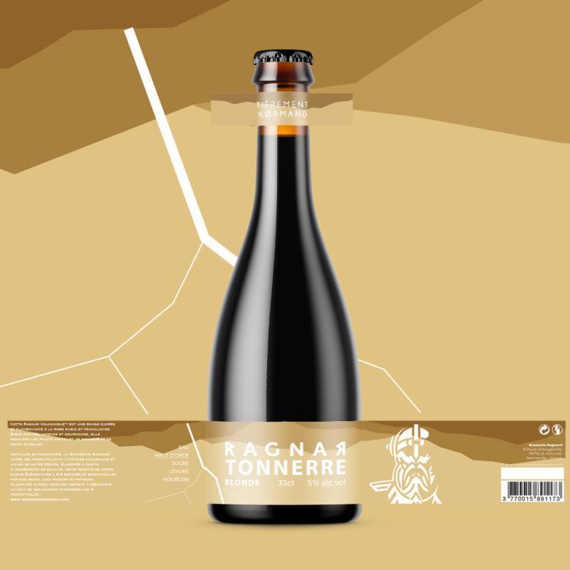 Bouteille de bière Ragnar